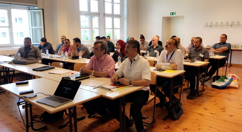 UCAS in cooperation with HTWK organized five sessions on Multimedia and information sciences in Germany