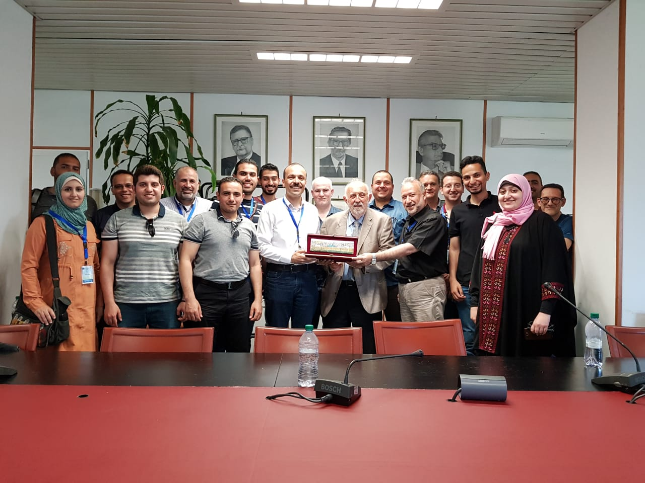 UCAS in cooperation with UNICAL organized six days of training sessions in multimedia and information sciences technologies.