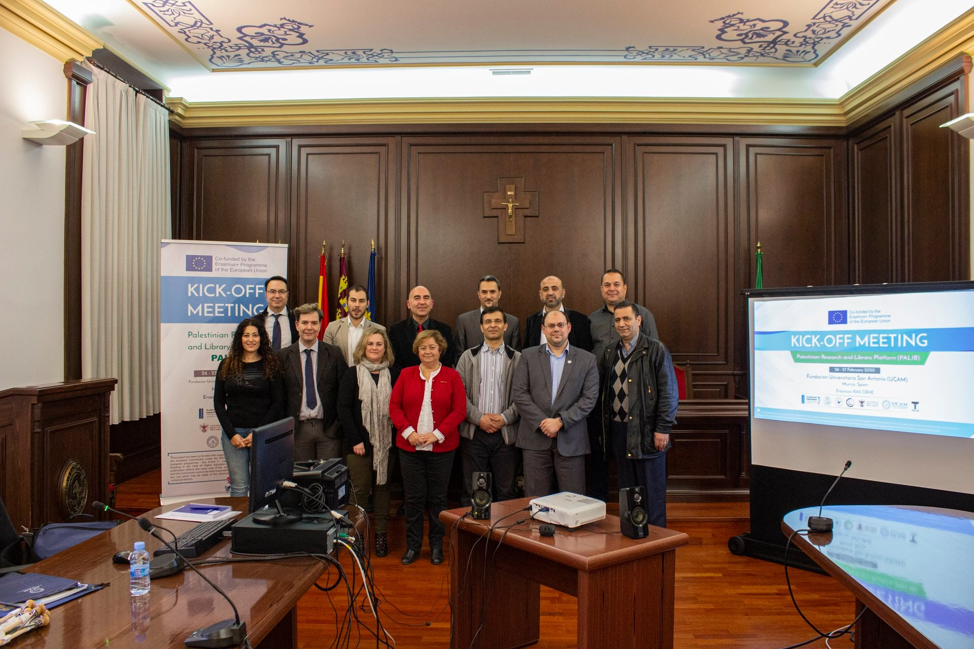 "The kick off meeting of the Erasmus+ project ""PALIB"" took place in Murcia, Spain"