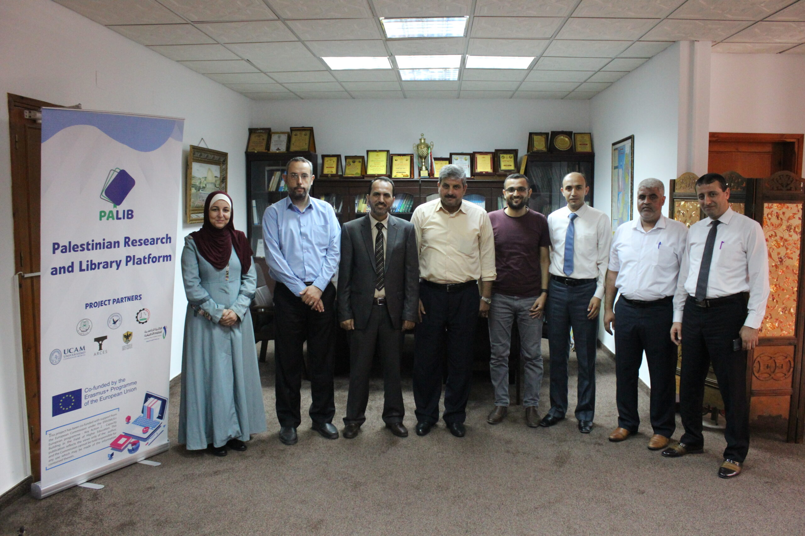 Within a series of local visits, PALIB has strengthened its partnership with QOU